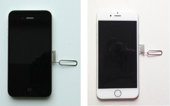 iPhone SIM-Karte einlegen