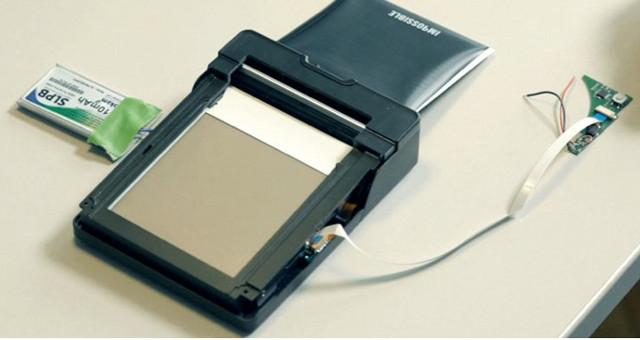 Polaroid Drucker für das iPhone