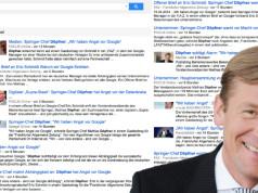 Mathias Döpfner Google Angst